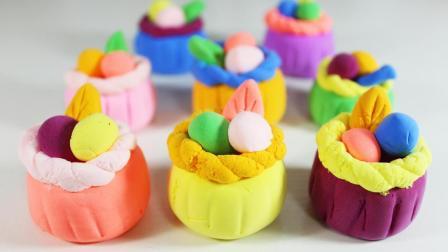 儿童早教欢乐谷 2017 亲子手工制作多彩蛋糕 236 亲子手工制作多彩蛋糕