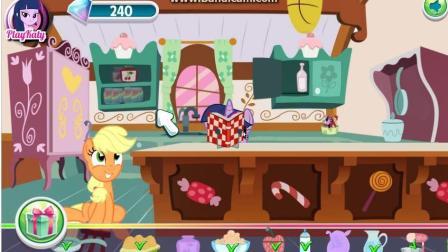 小马宝莉游戏 彩虹小马制作蛋糕小游戏 小马宝莉动画片 4399小游戏