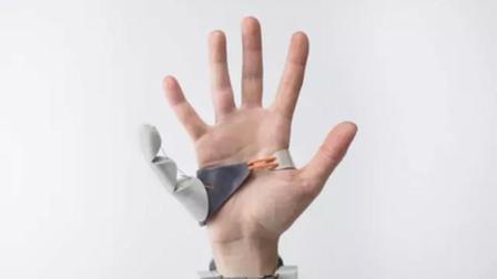 把自己变残疾人, 安装了第6个指, 不知有何妙用
