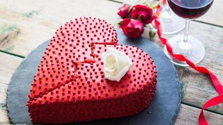 小技巧  没有心型模具也能做出心型蛋糕!