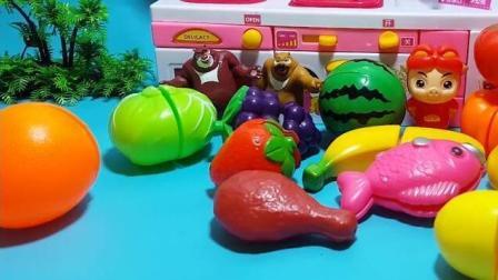 大象巴巴与白雪公主都喜欢吃草莓,海尔兄弟 叶罗丽宝贝 航海王
