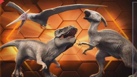 宝宝认识恐龙游戏 探秘恐龙公园 挖掘恐龙化石 发现准格尔翼龙 恐龙化石组装