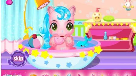小马宝莉游戏 小马宝莉动画片 彩虹小马 照顾我的可爱小马小游戏 4399女生小游戏