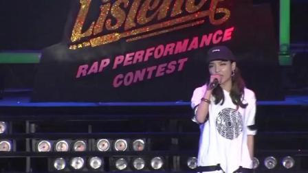 中国有嘻哈万磁王口中喜欢的女嘻哈VAVA, 参加rap比赛, 现场说唱《Nothing I can't do》