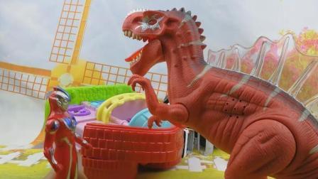 奥特曼大战恐龙 恐龙世界总动员 铠甲勇士恐龙战队