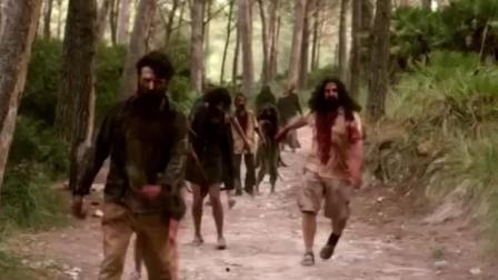 两分钟看恐怖片《逃亡僵尸岛》, 游客玩丧尸反被围剿, 不得不看!