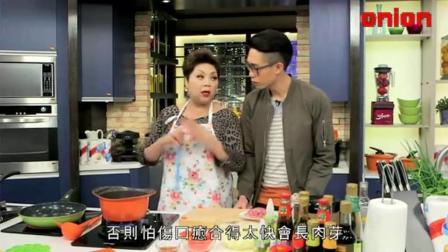 肥妈煮饭! 番茄薯仔汤, 香煎龙利鱼, 豆腐虾丸, 豆豉排骨