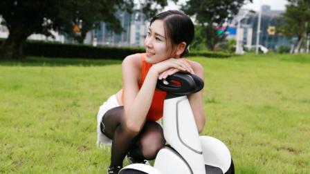 小米九号平衡车Plus测评, 黑丝美女的新晋恋爱僚机!