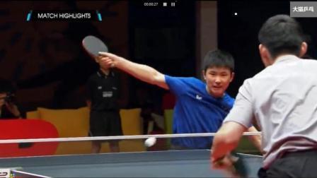 2017T2联赛陈建安vs张本智和【精华版】
