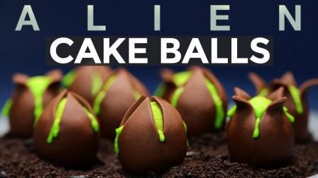 【洛洛烘焙坊】异形卵蛋糕球 - 异形·契约 @柚子木字幕组