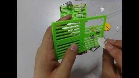 科技小制作:手摇发电机制作视频步骤