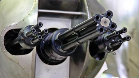 射速每秒射击100发 射出的子弹犹如串在一根线上直扑目标