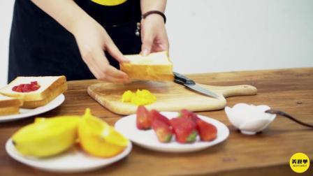 【美食单】有了这四道菜 整个夏天都完美了 芒果土司&捞拌野蒜&野蒜煎蛋&艾草团子