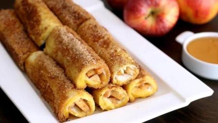 苹果法式面包卷, 西式早餐, 好吃的不得了