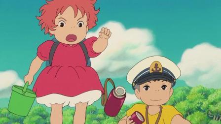 悬崖上的金鱼公主: 镇上的人开始救援, 波妞和宗介赶紧去找妈妈