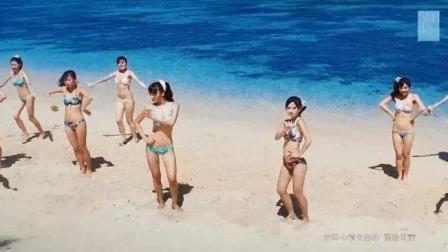 泳装大赏 SNH48《马尾与发圈》舞蹈版