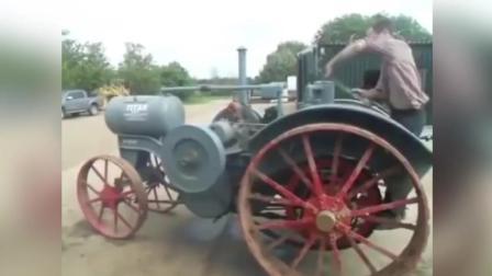 世界上最奇葩的拖拉机, 启动方式都是与众不同!
