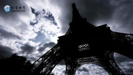 延时摄影: 巴黎的日与夜