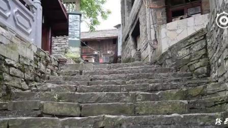 贵州小镇藏古堡村庄 全村石头和石板建成至今有400多年历史