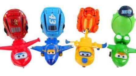 超级飞侠3变形玩具 汪汪队小猪佩奇和托马斯过家家