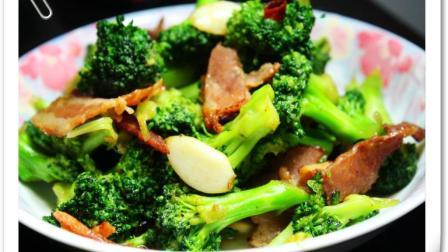 美味的西兰花炒肉, 看着不但有食欲, 用它下饭能是十碗