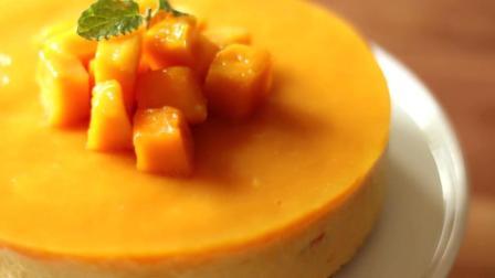 好吃到完全停不下来, 在家就能做的免焗芒果慕斯蛋糕