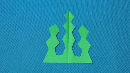 剪纸小课堂357: 手工DIY教学 剪纸海草 儿童剪纸教程大全 折纸王子 亲子游戏