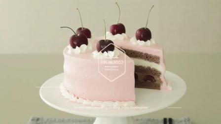 【Amy时尚世界】樱桃巧克力奶油蛋糕