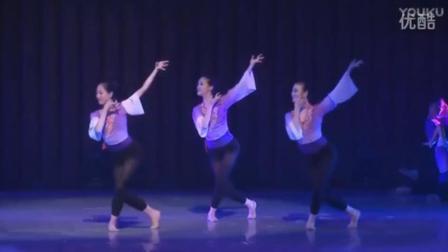 古典舞身韵组合《空山灵雨》