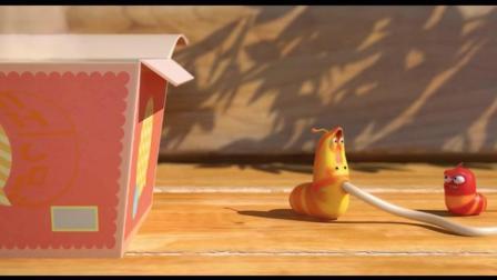 爆笑虫子: 红虫吃的面条都从鼻孔出来了, 万有引