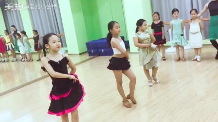 舞蹈少儿拉丁舞恰恰#杀气