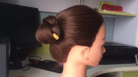 发簪盘发教程, 没有发簪也可以盘出这么利索的发型, 你会吗?