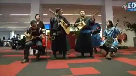 杭盖乐队国外电台表演