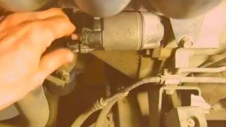 丰田汽车启动马达更换碳刷, 多学点修车技术没坏处