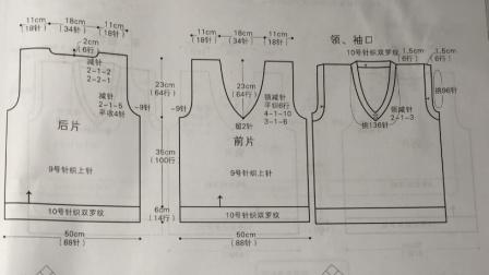 如何看懂编织图解