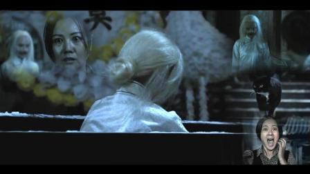 恐怖片《猫脸老太太》古城里谣传 不孝子女们的母亲 后化身猫脸老太  #大鱼FUN制造