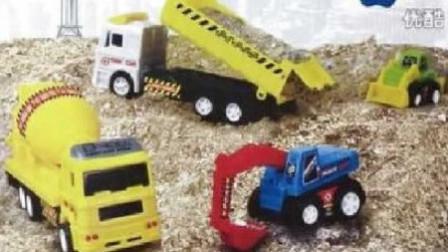 极速竞赛1-5关 赛车总动员 挖掘机 推土机 大卡车 汽车总动员动画片中文版