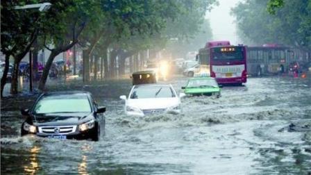7月19日莱阳市遭暴雨, 水漫金山!