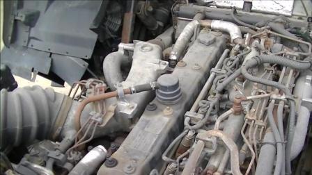 跑了75万公里的五十铃卡车, 听听发动机声音怎么样?