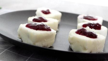 我的食记 第一季 蓝莓山药的做法 这小甜食好像冰淇淋 80