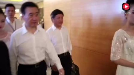 王健林孙宏斌一起走, 现场霸气侧漏!