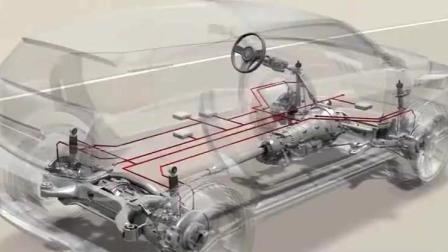 视频演示汽车差速器, 如何分配转速和扭矩