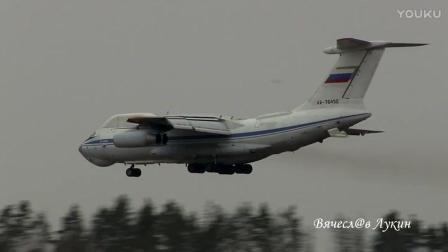 """苏俄""""核战指挥机""""伊尔-76VKP(伊尔-82)空中指挥机"""