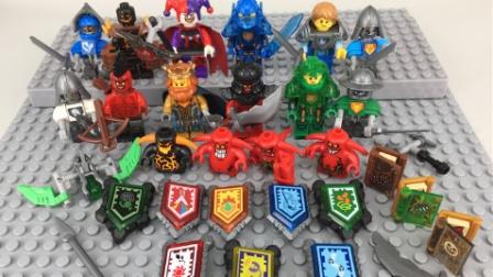 乐高玩具世界未来骑士团游戏系列 乐高世界15 邪恶的小丑【游乐园】