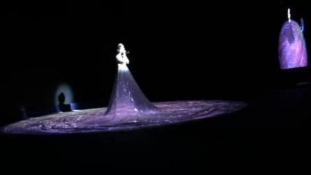 全息投影系列-视频互动秀-南昌站现场版星河之裙