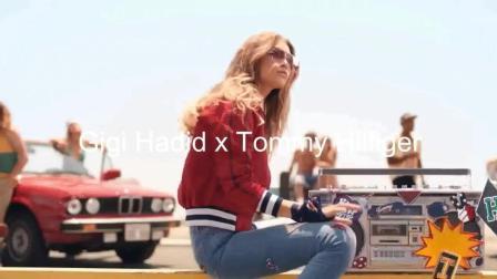 汤米·希尔费格的女神Gigi Hadid 时尚街拍独宠
