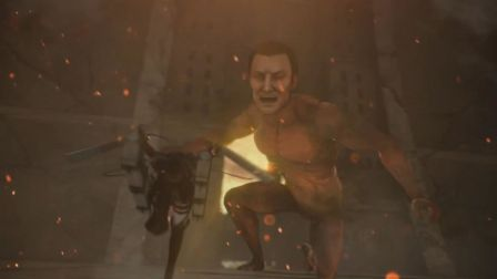 【Q桑制造】《PS4进击的泰坦》真进击模式热血向攻略解说 第04集
