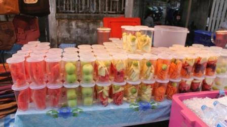 用料足颜色好看, 喝起来透心凉的泰国街饮!