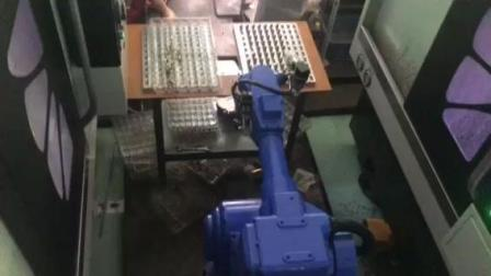 CNC数控机床机械手机器人上下料