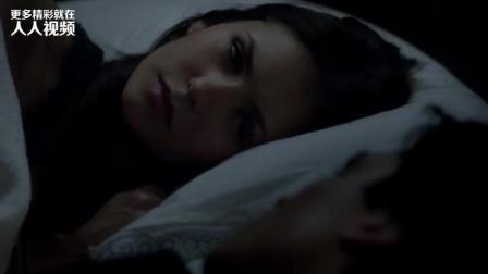 《吸血鬼日记》埃琳娜第一次吻达蒙, 就知道你抗不住这诱惑